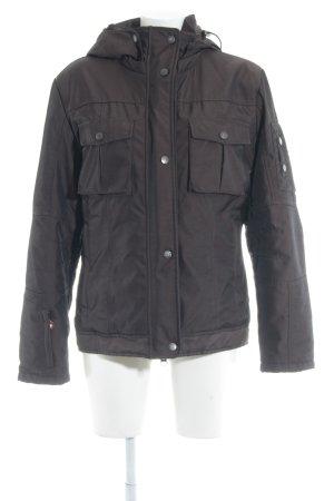 Wellensteyn Winterjacke braun-schwarz sportlicher Stil