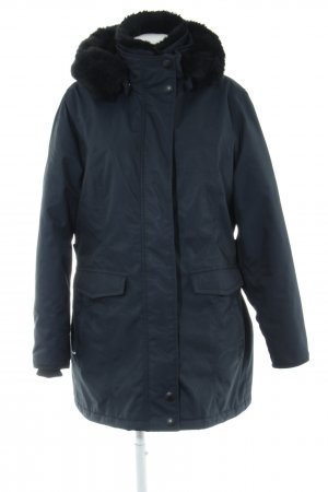 Wellensteyn Winterjacke dunkelblau-schwarz Casual-Look