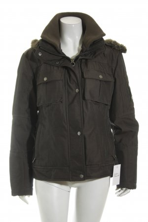Wellensteyn Winterjacke graubraun Casual-Look