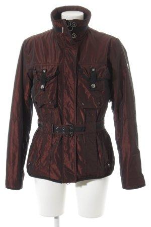 Wellensteyn Winterjacke karminrot Street-Fashion-Look