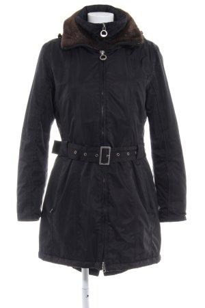 Wellensteyn Chaqueta de invierno negro estilo «business»