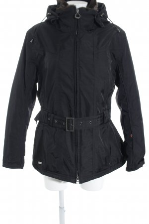 Wellensteyn Winterjacke schwarz Casual-Look