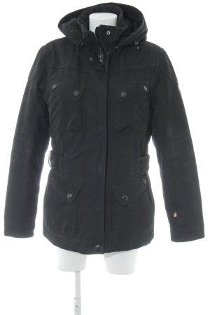Wellensteyn Winterjacke schwarz schlichter Stil