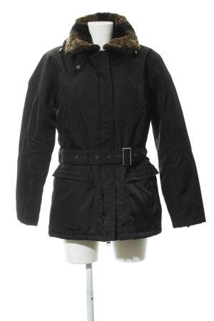 Wellensteyn Chaqueta de invierno negro estilo sencillo