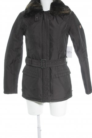 Wellensteyn Giacca invernale marrone-nero stile semplice