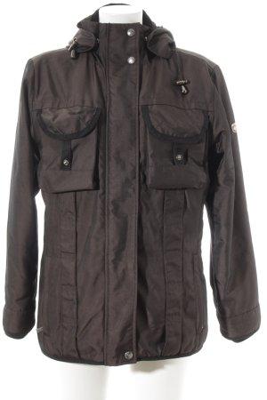 Wellensteyn Winterjacke schwarzbraun sportlicher Stil