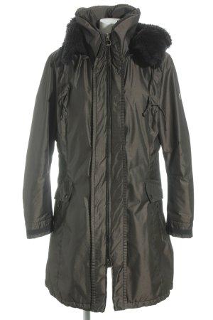 Wellensteyn Wintermantel bronzefarben-schwarz sportlicher Stil