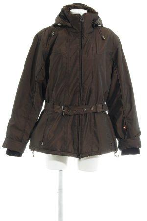 Wellensteyn Cappotto invernale marrone chiaro-marrone scuro stile casual