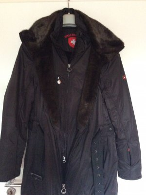Wellensteyn Long Jacket brown polyester
