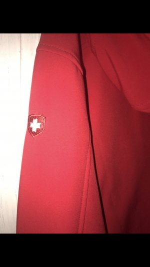 Wellensteyn Regenjas wit-rood