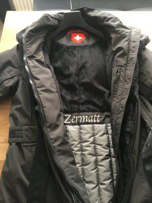 Wellenstyn Zermatt Jacke braun/schwarz Gr. M