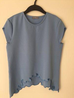 Wellig geschnittener Shirt