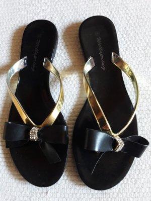 Wellspring. Sandalen. schwarz.