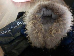 We Love Furs Pelliza azul oscuro