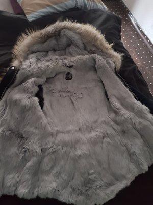 We Love Furs Pelzen jack donkerblauw