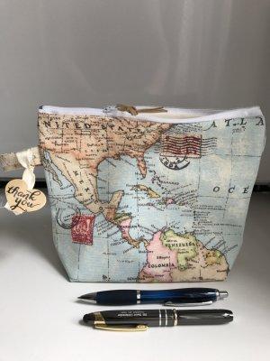 Weltkarten Print Tasche Neu