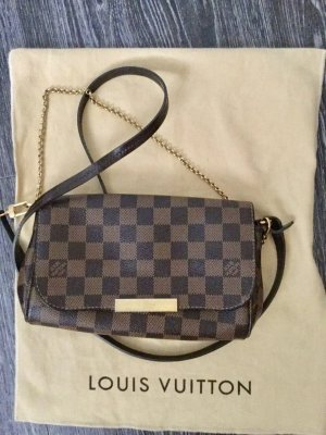 Louis Vuitton Borsetta marrone-nero-marrone