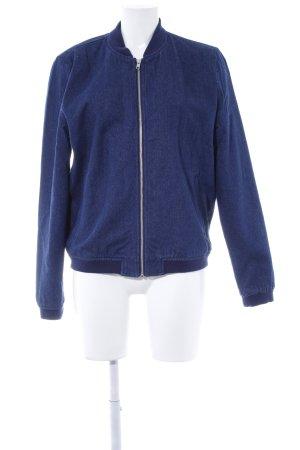 Wemoto Jeansjacke blau Casual-Look