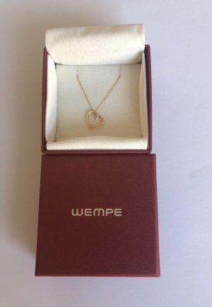 Wempe Pendentif or rose