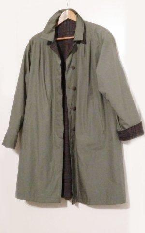 Manteau en laine multicolore laine