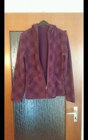 Wende - Fleece - Jacke in lila