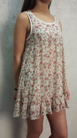 Babydoll-jurk veelkleurig Katoen