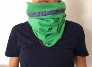 Wende-Loopschal/Schal, handmade