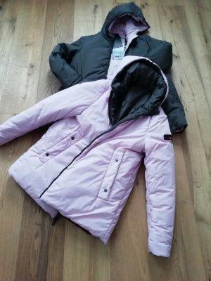 Oversized Jacket rose-gold-coloured-dark brown
