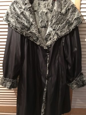 Reversible Jacket black-silver-colored