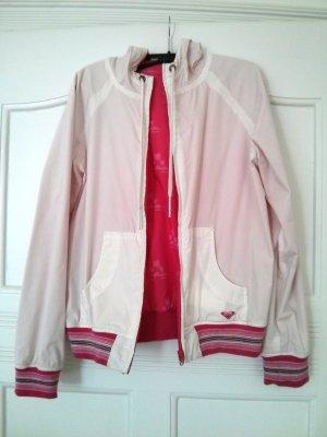 Wendejacke Pink / Weiß