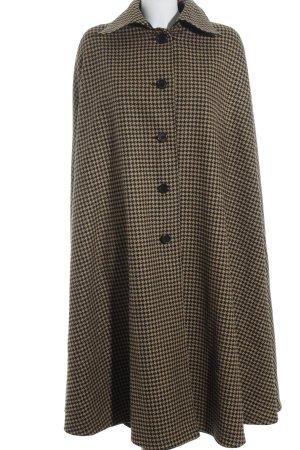 Reversible Jacket black-beige houndstooth pattern extravagant style