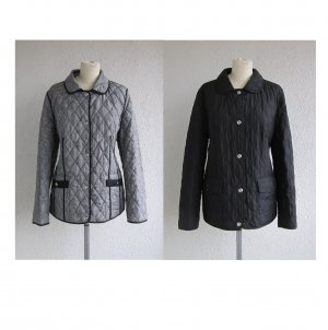 Reversible Jacket white-black polyester