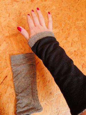 Legwarmers black-light brown