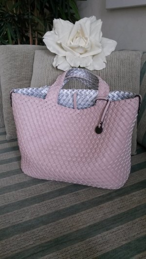 Turn Bag light grey-light pink