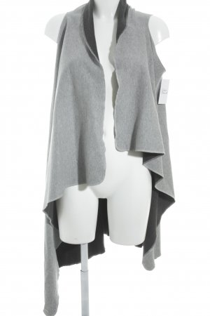 Reversible Vest dark grey-light grey casual look