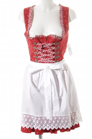 Wenger Dirndl rot-weiß Country-Look