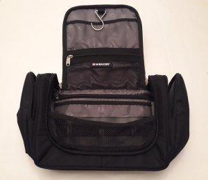 Wenger Reisetasche Travel Tasche Overnight Amenity Kit Kosmetiktasche schwarz, Neu mit Etikett