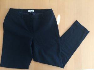 Pantalon 7/8 bleu foncé coton