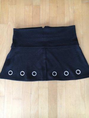 Zara Trafaluc Jupe skater noir coton