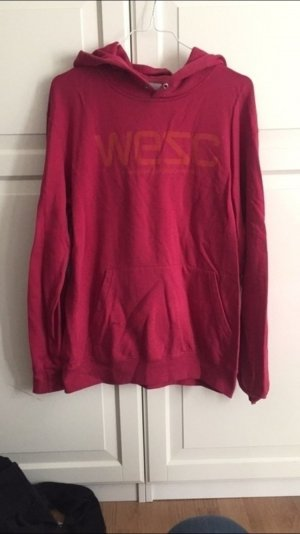 WESC Pulli in rot / orange
