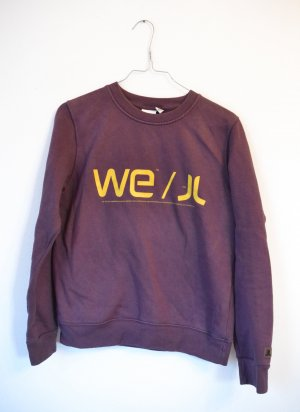 Wesc Crewneck Sweater lilac-yellow
