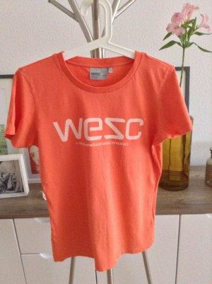 Wesc Shirt Koralle soft Jersey m