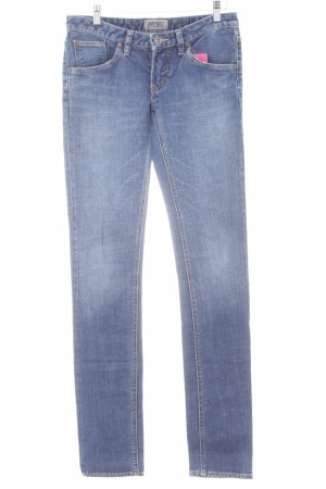 Wesc Slim Jeans stahlblau Casual-Look