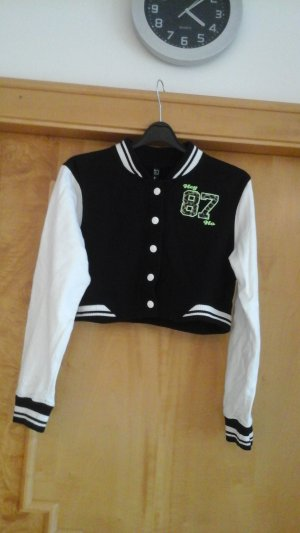 Shirt Jacket white-black