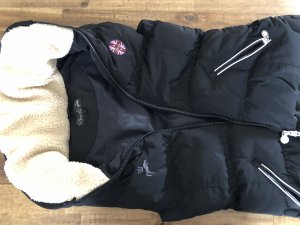 Spooks riding Down Vest black-natural white