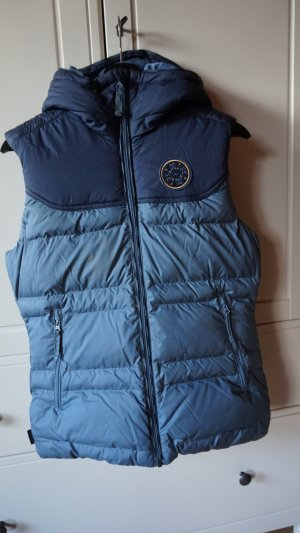 Decathlon Hooded Vest dark blue-azure