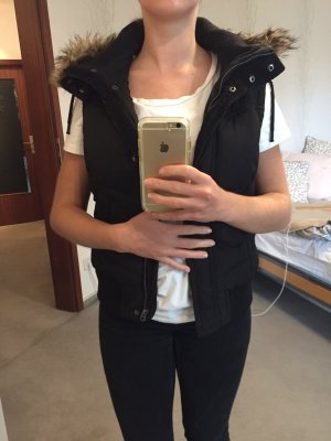 H&M Capuchon vest zwart