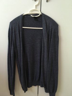 H&M Knitted Vest slate-gray