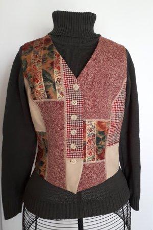 Betty Barclay Smanicato lavorato a maglia multicolore Lana vergine
