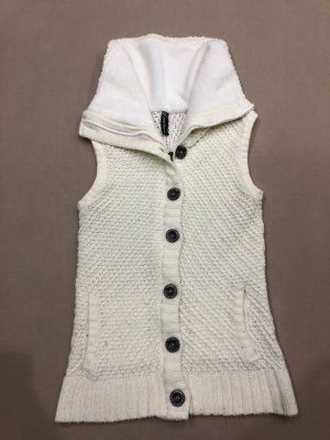 Blind Date Knitted Vest natural white